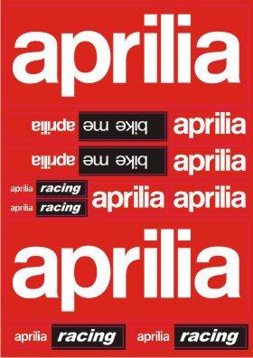 Nálepky moto Aprilia 2