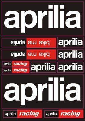 Nálepky moto Aprilia 3