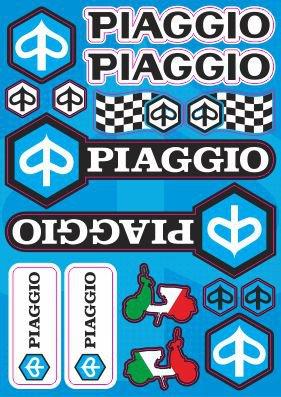 Nálepky moto Piaggio